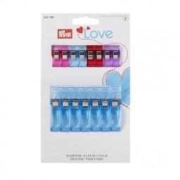 Prym Love Pinces A Tissus 2,6 Cm Et 5,5 Cm Réf 66/610182