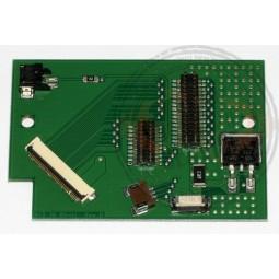 Plaquette connexion écran HV DDR