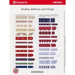 CD HV n°254 Endl. ribbons & straps Réf CD/HV/254