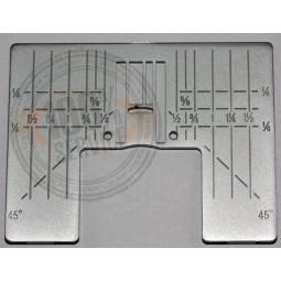 Plaque aiguille ZZ inch HV DD Réf 47/77/1044