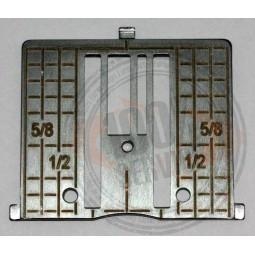 Plaque aiguille point droit HV DI Réf 47/77/1048