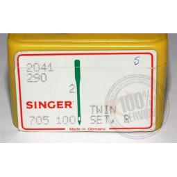 Aiguille Singer 2041 double 90 écart.2