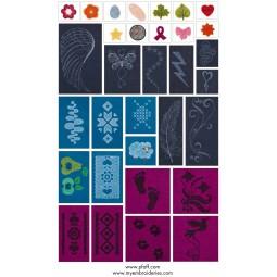 CD Pfaff 479 Embroidery Felting Ref CD/P/479