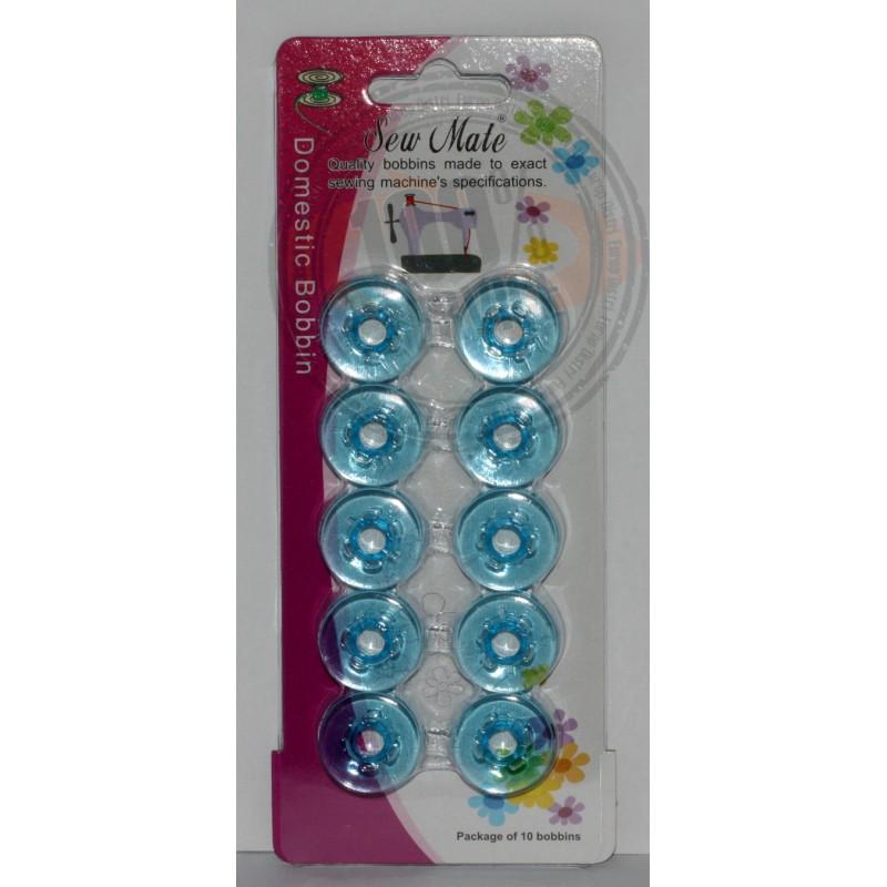 Blister de 10 canettes bleues Pfaff Ref 22/83/1015B