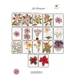 CD HV n°257 3D Flowers