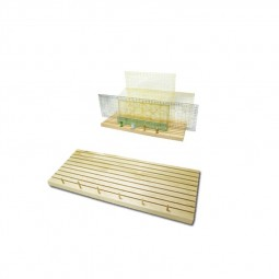 Support en bois pour règles de mesure 57/95/1273