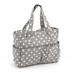 Sac coffret 12.5 x 39 x 35 Collection Plumetis Gris