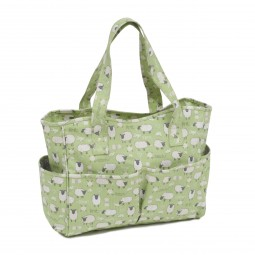 Sac coffret 12.5 x 39 x 35 Collection Moutons qui tricotent