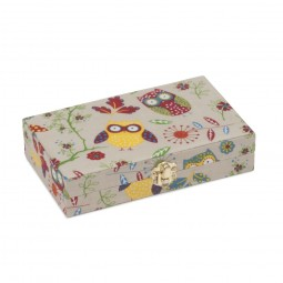Sac coffret 20 x 12 x 4.5 Collection HIBOUX