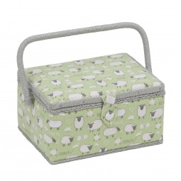 Sac coffret 18.5 x 26 x 15 Collection Moutons qui tricotent