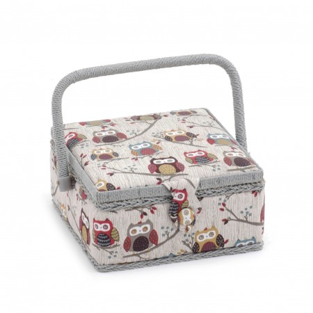 Sac coffret 20 x 20 x 11 Collection CHOUETTES