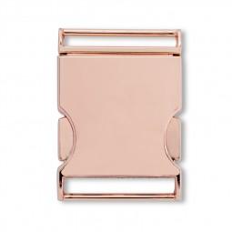Boucle de ceinture 30 mm or rose