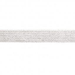 Cordon sweat à capuch. PES 17 mm blanc