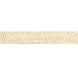 Cordon sweat à capuch. PES 17 mm beige