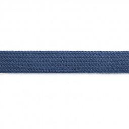 Cordon sweat à capuch. PES 17 mm bleu