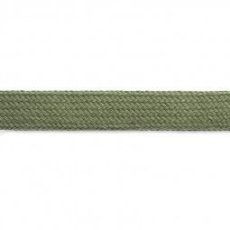 Cordon sweat à capuch. PES 17 mm kaki