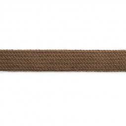 Cordon sweat à capuch. PES 17 mm brun