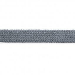 Cordon sweat à capuch. PES 17 mm gris clair