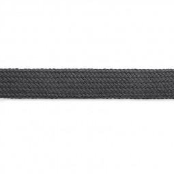 Cordon sweat à capuch. PES 17 mm gris foncé