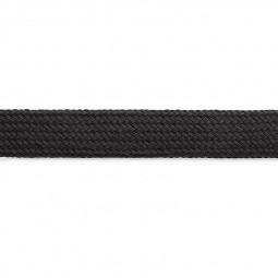 Cordon sweat à capuch. PES 17 mm noir