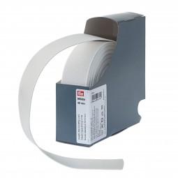 RUBAN  ELASTIQUE FORT 40MM BLANC Ref 66/955304