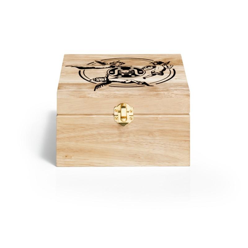Boìte de rangement bois motif angel - Lettre prix de vente conseillé PP