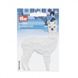 Motif br. Lama brilliant blanc - Lettre prix de vente conseillé N
