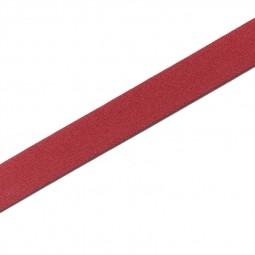 Ceinture élastique 20 mm rouge - Lettre prix de vente conseillé