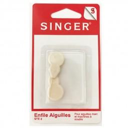 Enfile aiguille  support plastique X 2 SF234  SINGER Réf 57/95/1025