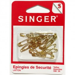 Epingles laiton assorties SINGER SF419.99 Réf 57/95/1202