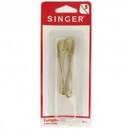 Epingles kilt laiton SINGER SF411 Réf 57/95/1095