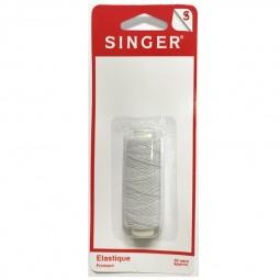 Elastique fronceur blanc 20 metres SINGER SF600 Réf 57/95/1193