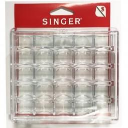 Boîte de rangement plastique 25 Canette SINGER SF160 Réf 57/95/1007
