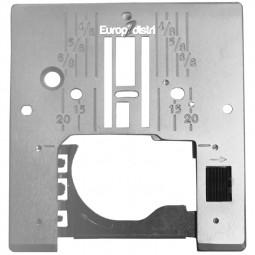 Plaque aiguille métal HOBBY EMERALD - PFAFF Réf 47/83/1048