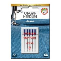 Aiguille 130/705H-DE Jeans 90 / 5 pcs ORGAN
