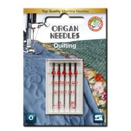 Aiguille 130/705H-QU Quilting 75 et 90 / 5 pcs ORGAN
