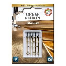 Aiguille 130/705H-PD Titanium 75 à 90 / 5 pcs ORGAN