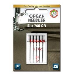 Aiguille ELX705CR Chrome 80 / 5 pcs ORGAN