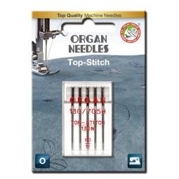 Aiguille 130N Top stitch 80 / 5 pcs ORGAN