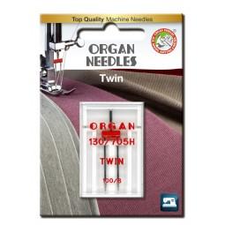 Aiguille 130/705HZ Double 100 écartement 6 / 1 ORGAN
