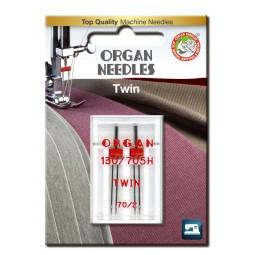 Aiguille 130/705HZ Double 70 écartement 2 / 2 pcs ORGAN