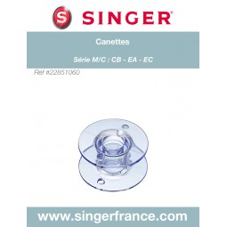 Canettes Confidence Experience 160 x 4 sous blister Singer réf 22/85/1060.B