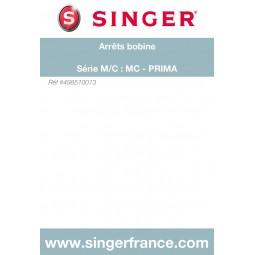 Lot d'arrêts bobine Prima Magic Mélodie sous blister Singer réf 49/85/10013.B
