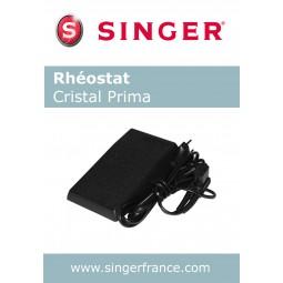 Rhéostat 3 trous sous blister Singer Réf 55/85/1005.B