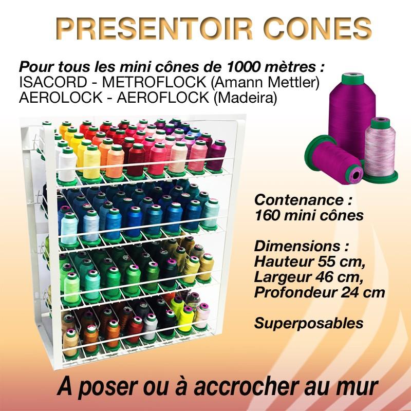 Présentoir pour cônes ISACORD 1000 M 160 mini cônes