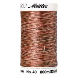 Fil à coudre Mettler Polysheen multicolori bobine 800 m col. 9302