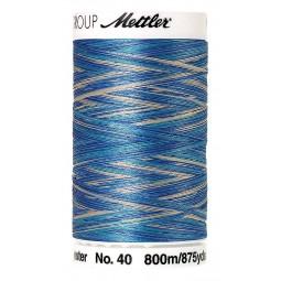 Fil à coudre Mettler Polysheen multicolori bobine 800 m col. 9605