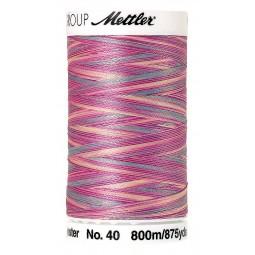 Fil à coudre Mettler Polysheen multicolori bobine 800 m col. 9912