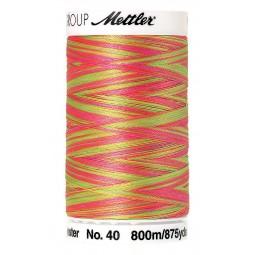 Fil à coudre Mettler Polysheen multicolori bobine 800 m col. 9914