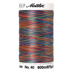 Fil à coudre Mettler Polysheen multicolori bobine 800 m col. 9916